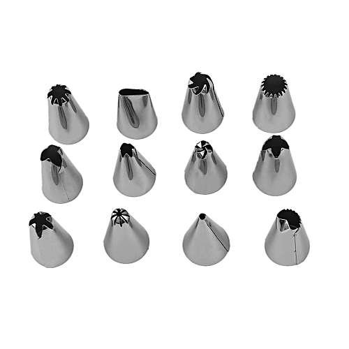 Cake Decorating Mouth Set Cream Nozzle Mouth Piping Converter Pastry Bag
