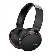Bluetooth Headset Wireless Headphone - Extra Bass -MDR-XB950BT- Black.