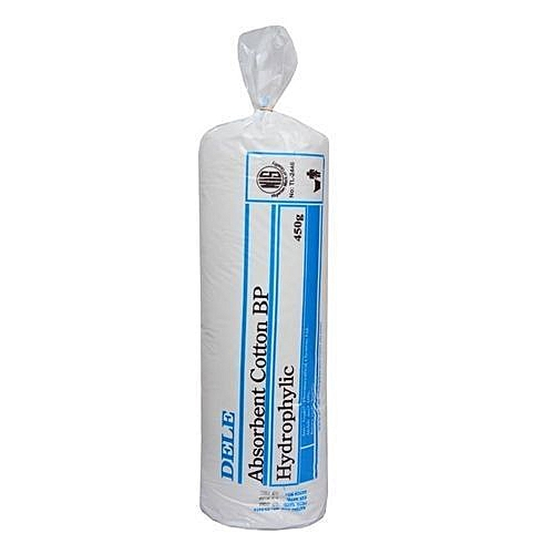 ( 2 In 1) Absorbent Cotton Wool 450gms