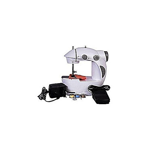 Generic Mini Sewing Machine With Foot Pedal - Electric Operated