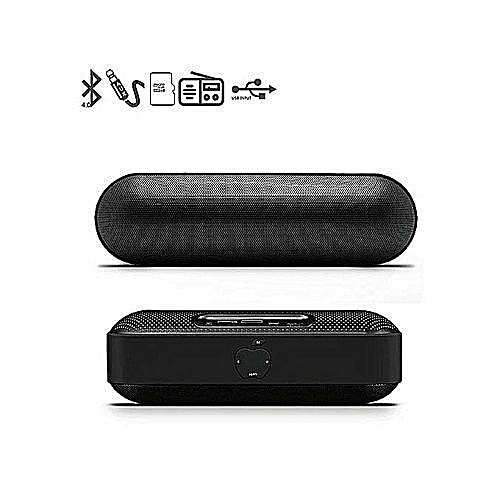 S812 Apple Bluetooth MP3 Speaker With 3D Stereo Sound, Built-in Mic, FM Radio, Support TF Card And USB Input