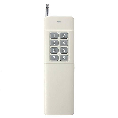 8 Channel 433MHz 3000m Wireless Remote Control For Home Door