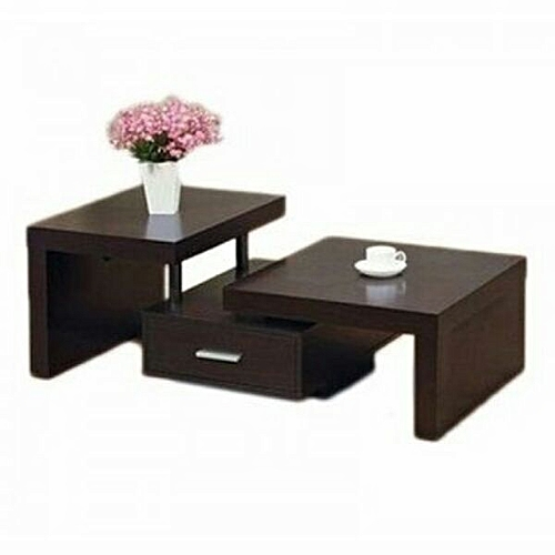 Coffee & Center Table - Brown
