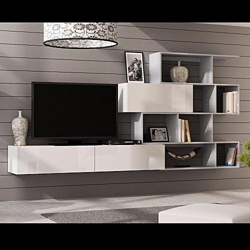 EFFICIENT-STORAGE-SYSTEM-FLOATING-TV-STAND-OPEN-SHELF