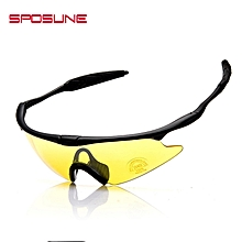 f7d7d2dd176f X100 Outdoor Sports Eyeglasses CS Windproof Goggles For Riding Yellow