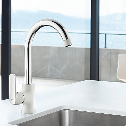 FRAP F4031 Kitchen Double Handles Hot And Cold Water Sink Faucet Single Hole Mixer