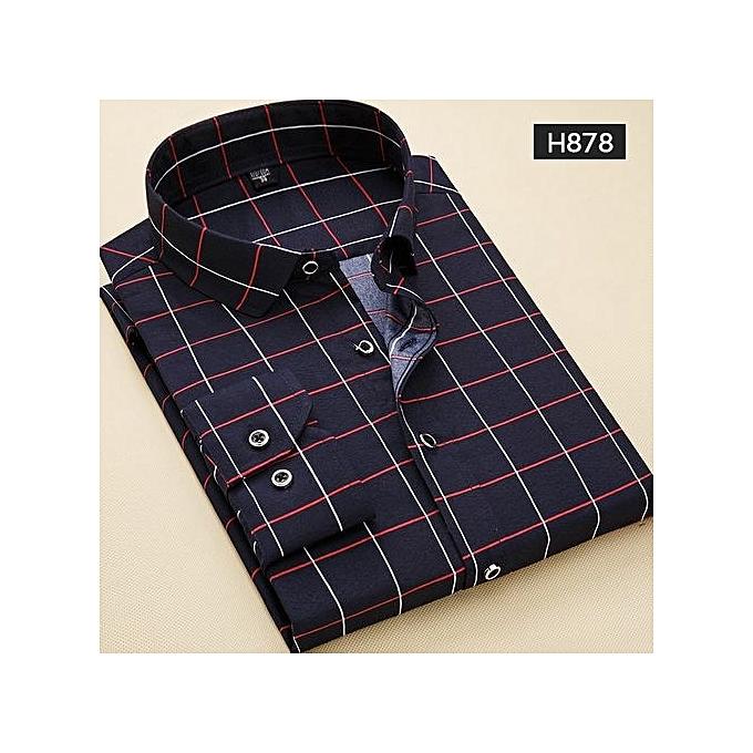 a60bc2cac6a Fashion Men Casual Shirts Men Oxford Dress Shirt Youth Style-H876 ...