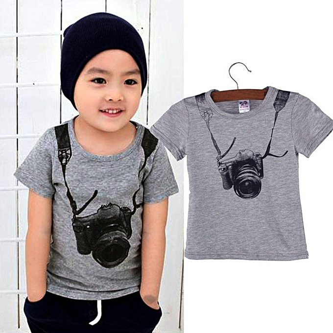 ec2bb9e6b Fashion Newborn Toddler Kids Baby Boy Clothes T-shirt Tops Blouse ...