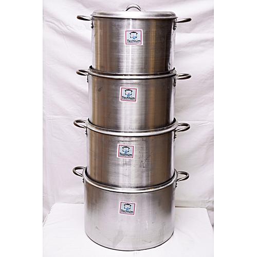 Aluminium Cooking Pot Set Of 4 ( 28, 30, 32, 34)
