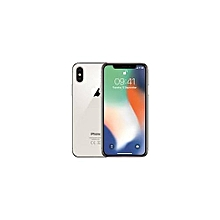 Iphone X 25GB- Sliver With Free Tempered Glass