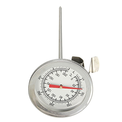 Stainless Steel Oven Cooking BBQ Probe Thermometer Food Meat Gauge 200锟斤拷C NEW