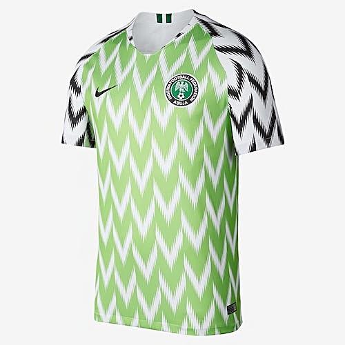 e7ca18b68 Nike Nigeria Home Jersey - 2018 (Fan Grade)