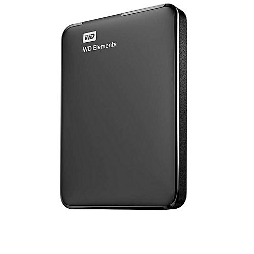 e9a7aab8a1b78e Western Digital (WD) Elements 1TB Portable USB 3.0 External Hard Drive -  Black