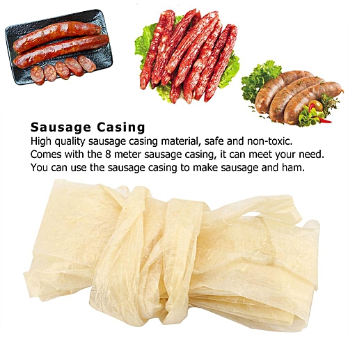 Edible Drying Cantonese-style Sausage Casing For Flavorous Homemade Sausages Ham