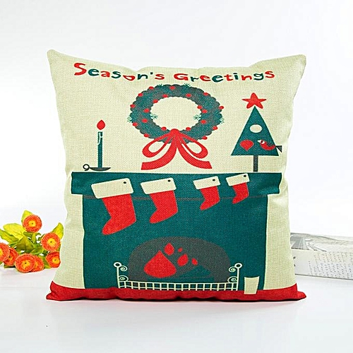 Fashion Christmas And Halloween Sofa Bed Home Decor Pillow Case Cushion Cover