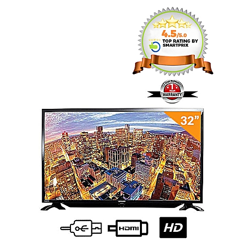 32-Inch SHARP LC32LE185M LED TV - Black