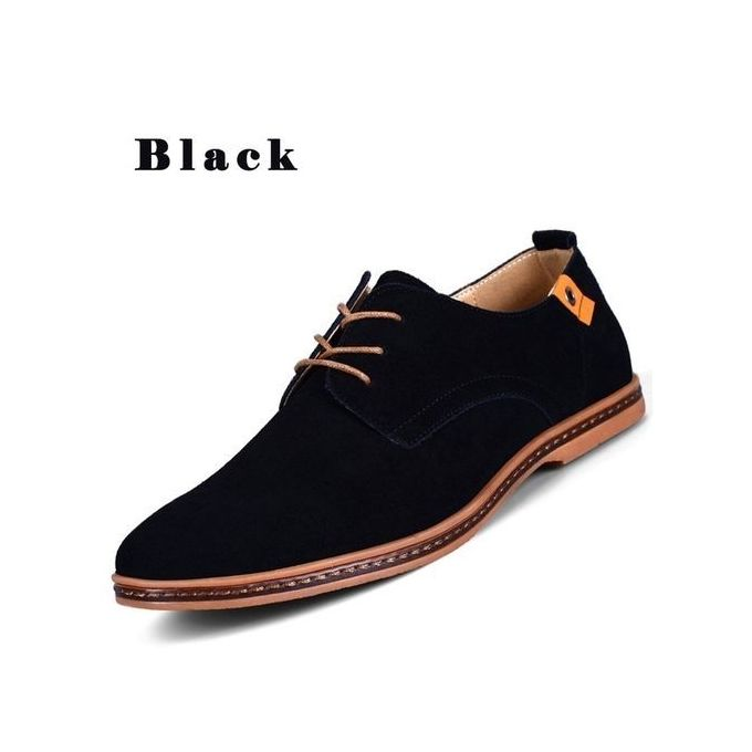fashion s casual leather shoes black buy