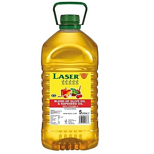 Laser Blend Of Olive Oil And Rapeseed Oil 5 Liters