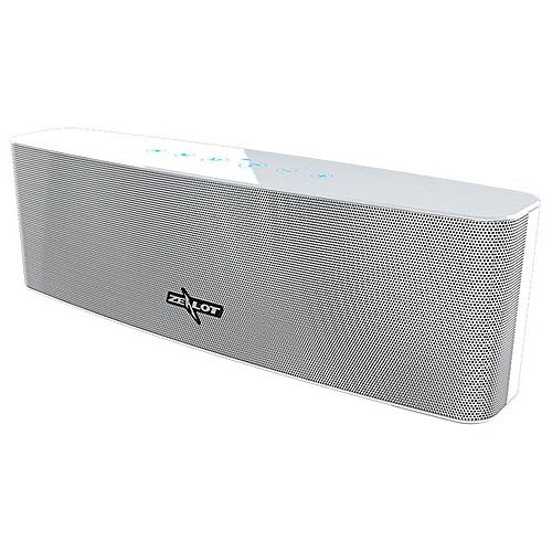 S12 Portable Wireless Bluetooth Speaker 4 Driver Touch Control Outdoor Column 12W Subwoofer With Mic Support TF Card AUX(White) BCN