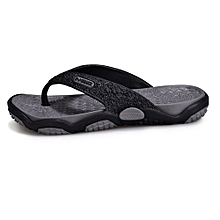 f9b26304c693a7 Fashion Man's Flat Flip Flops Fashion Casual Breathable Comfortable  Shoes/Slides