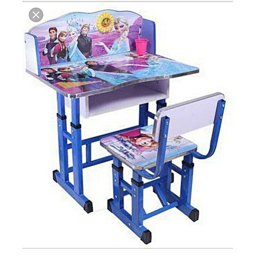 Children School Table With Chair Multi Purpose Learning Eating