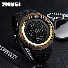 Trend Mark Forsining Sport Men Multi-function Led Digital Watch Alarm Clock Week And Date Display Waterproof Fashion Cool Male Wristwatch With Traditional Methods Mechanical Watches Men's Watches