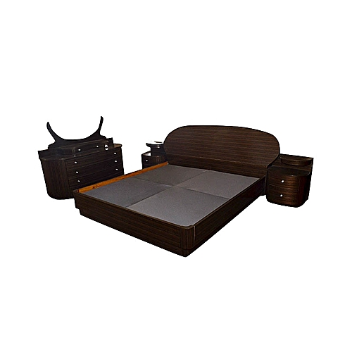 GHF FLIPPY Bed Frame - Dark Brown