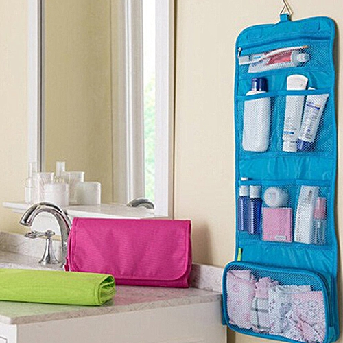Cosmetic Bag Korean Version Of The Multi-function Travel Business Portable White-collar Wash Storage