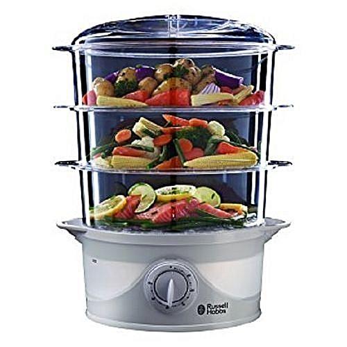 9 Litres 3 Tier Food Steamer