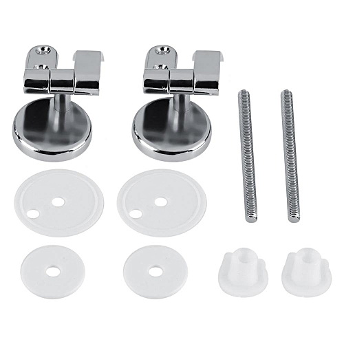 Replacement Toilet Seat Hinge Chrome Hinge With Fittings Bathroom Hotel Set