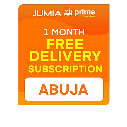 Jumia Prime - Free Delivery Abuja - 1 Month Subscription
