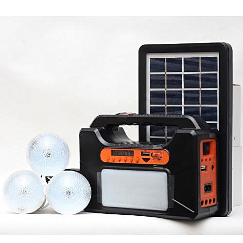 Kamisafe Solar Lighting Kit With Phone Charger