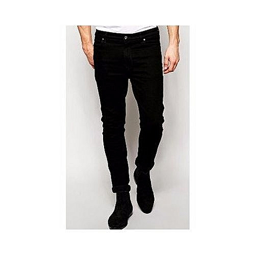 Denim Charcoal Black Jean