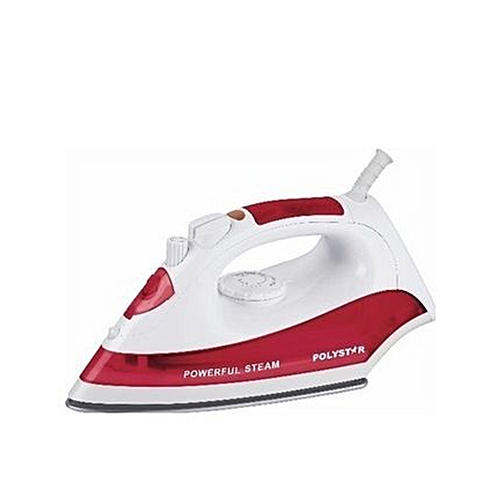 Steam Iron With Self-clean Function - Red