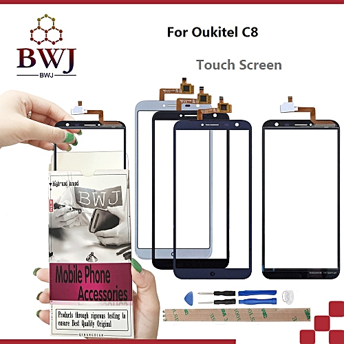 For Oukitel C8 Touch Screen + Tools