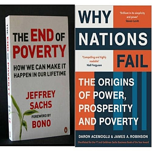 The End Of Poverty + Why Nations Fail Book Bundle