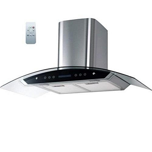Digital Cooker Hood With Vent + Non Vent Black - 90cm (CHARCOL FILTER) REMOTE CONTROLLED HD70