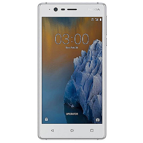 3 5-Inch IPS (2GB, 16GB ROM) Android 7 0 Nougat, 8MP + 8MP LTE Smartphone -  Silver