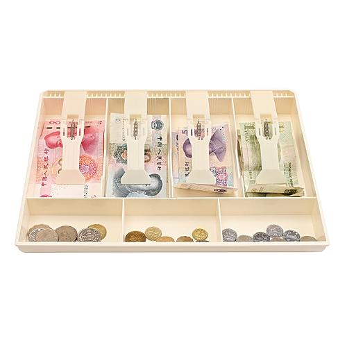 Money Cash Coin Register Insert Tray Replacement Cashier Drawer Storage Box