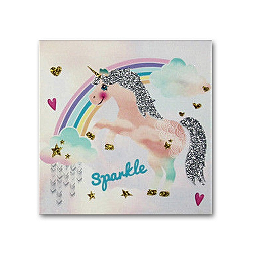 UNICORN Rainbow Canvas Wall Art Prints Pictures Canvas Home Bedroom Decoration No Frame