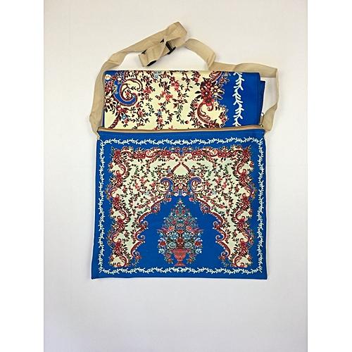 Muslim Prayer Mat With Bag For Travel Bag Prayer Mat ,Islam Prayer Rug With Bag Sets HGP-011 3D Print