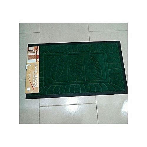 Indoor Outdoor Foot Mat - Green Assorted