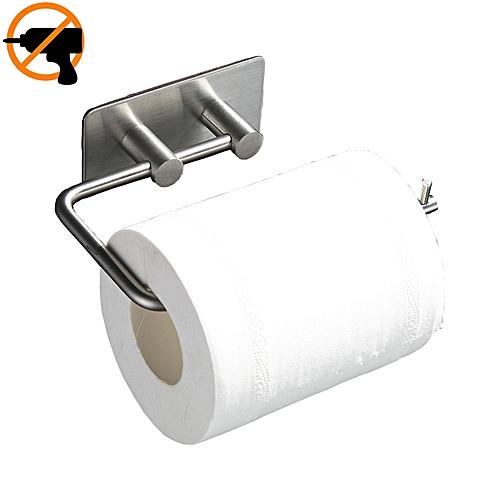 Sticky Self Adhesive Toilet Tissue Paper Roll Storage Holder