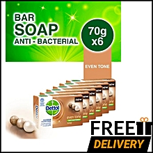 EvenTone Anti-Bacterial Soap - 70g - Pack Of 6