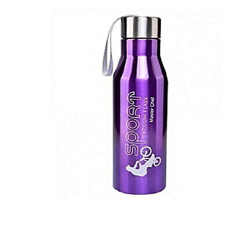 MASTERCHEF Sport Vacuum Flask 820ml - Black