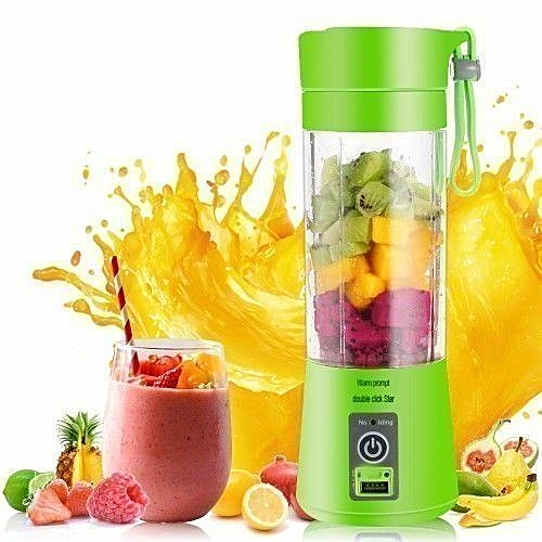 Rechargeable Mini Juicer/Smoothie Maker/Blender - Color May Vary