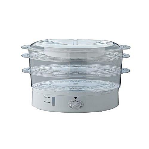 Cookworks 3 Bowl Steamer- Three-Tiered Food Steamer