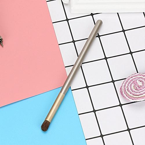 Brush 1 Pcs Wood Cosmetic Brush EyeShadow Brush Cosmetics Blending Brush Tool Gold