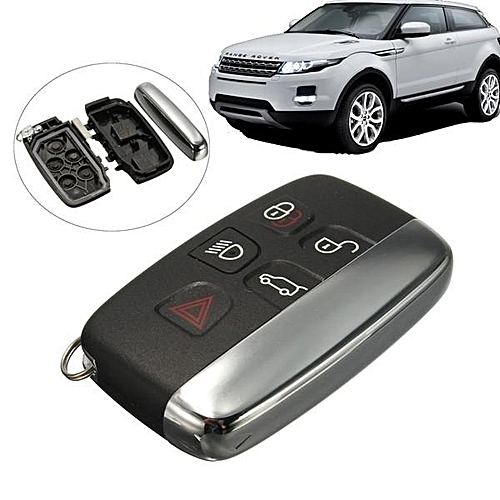 5 Button Remote Key Case Fob Shell For Land Rover LR4 Range Rover Sport Evoque