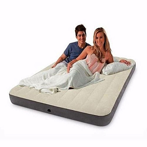 Highly Durable Standard Fiber-Technology Dura-Beam Airbed With Pump - 2 Persons